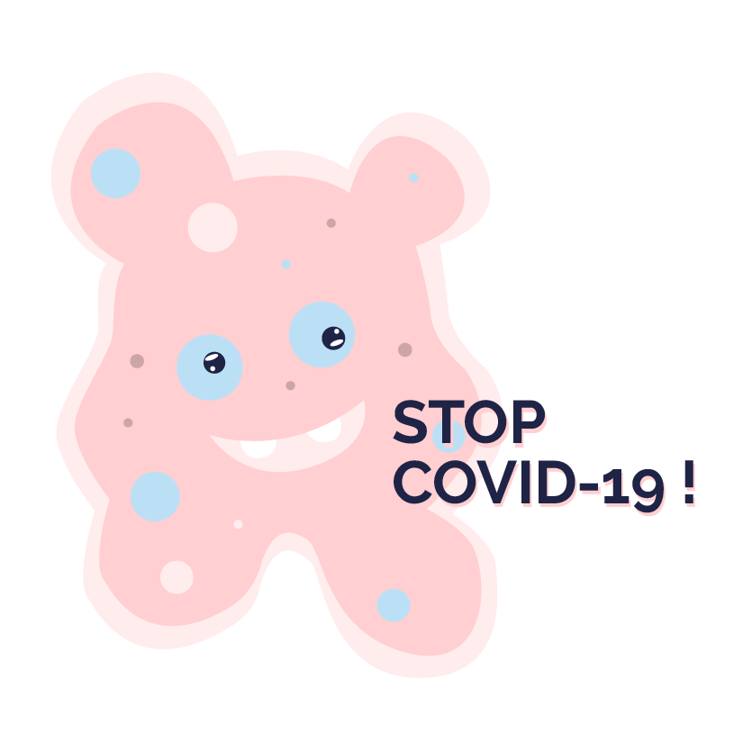 Stop-Covid 19- Picto Kidways