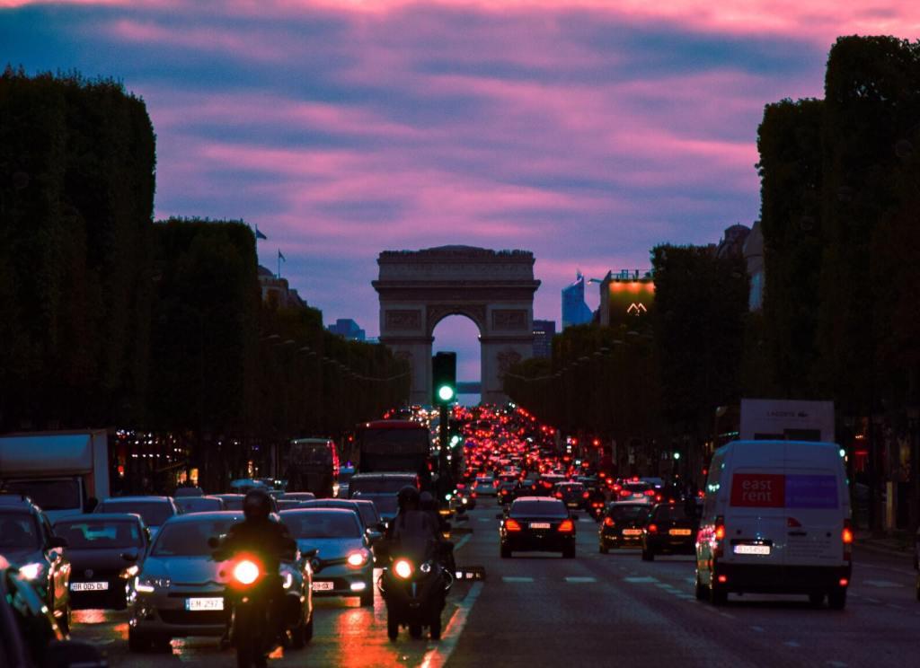 Embouteillages parisiens