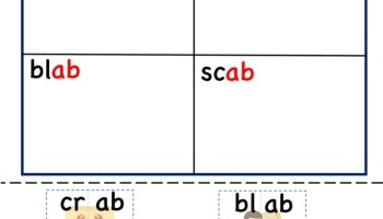 ab word family cut and paste worksheet