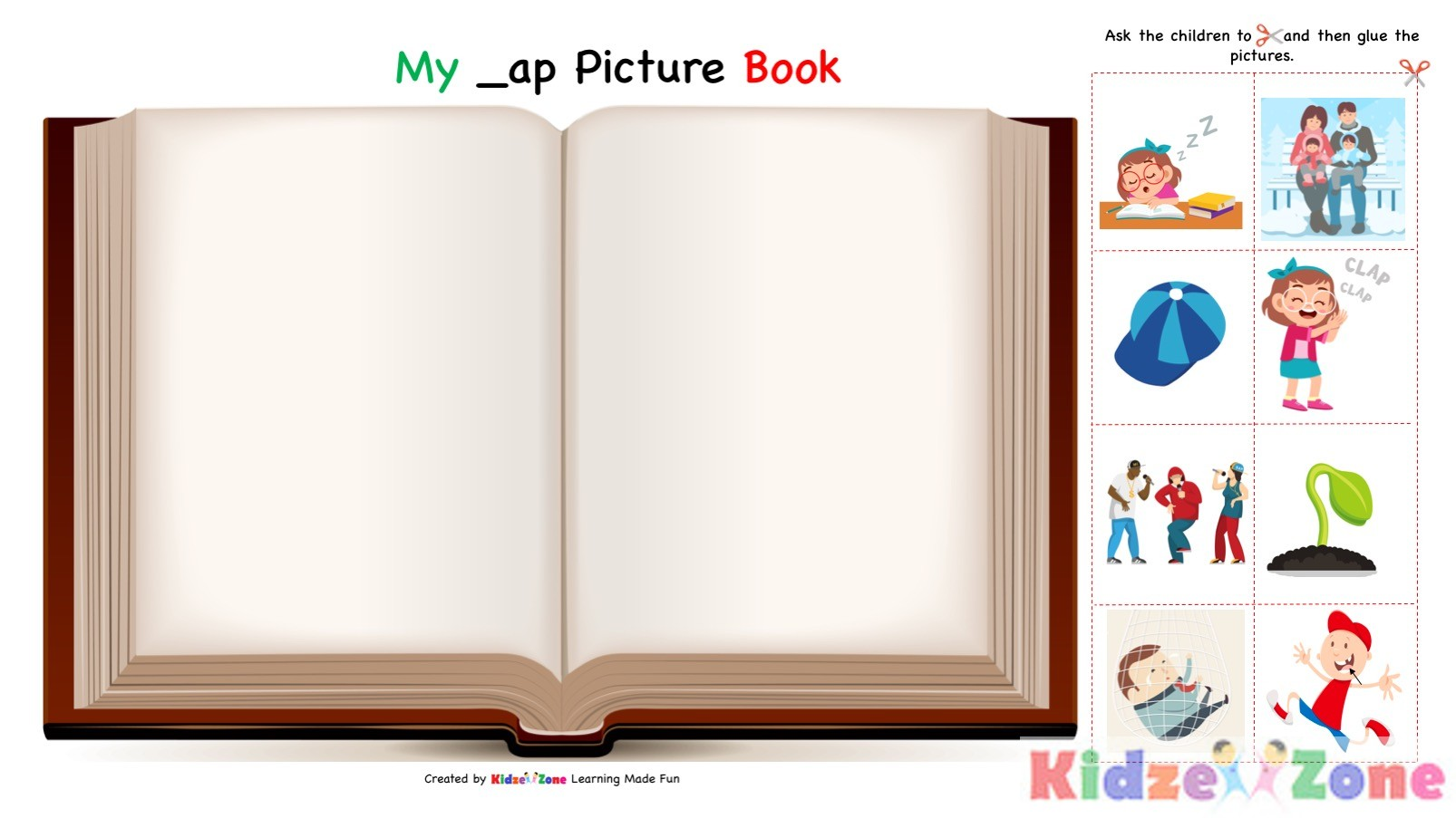 Download Kindergarten Worksheet Ap Word Family