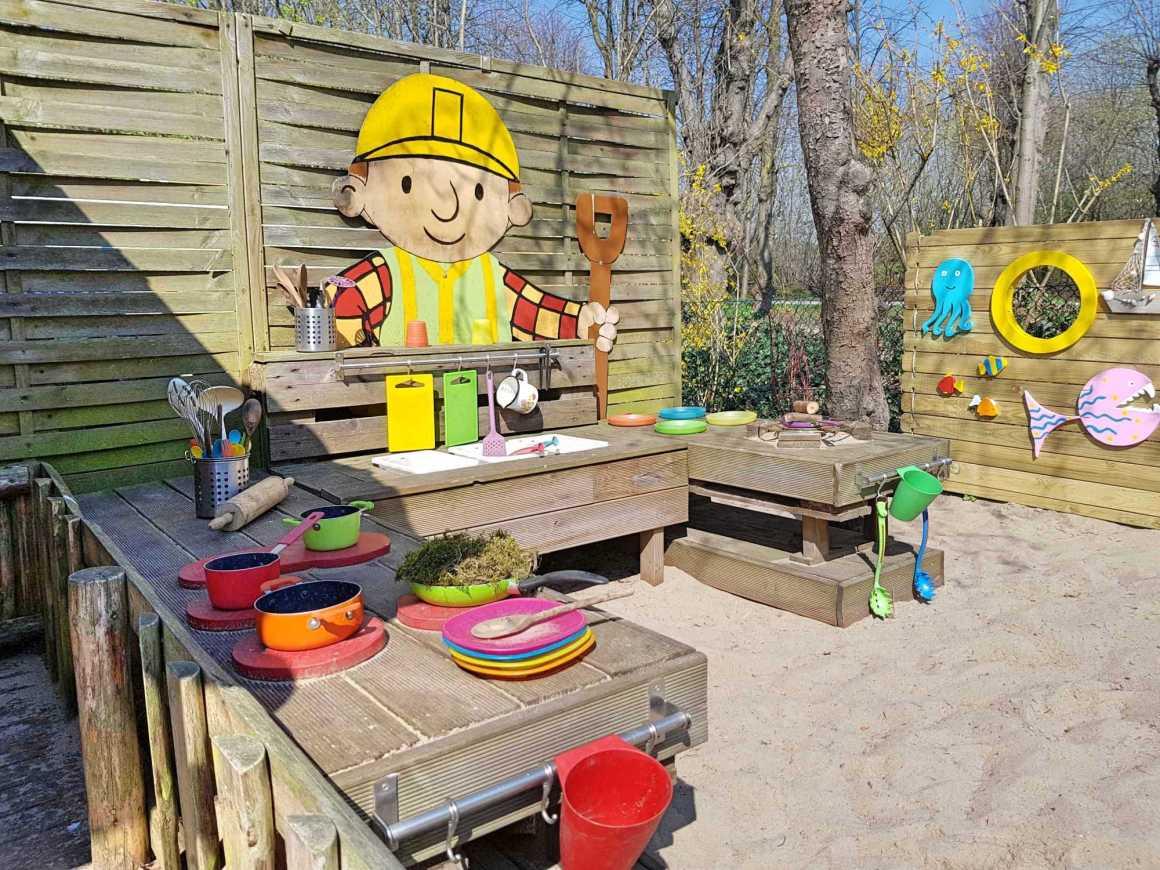 Kita Kid Zone Kinderbetreuung Matschküche Palettery 1
