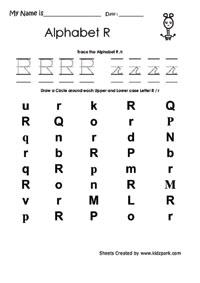 Teaching Alphabet Worksheets Letter Recognition Worksheets