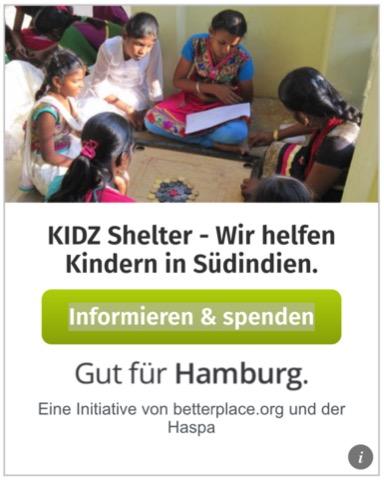 Spende via Gut für Hamburg.