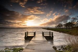Storm op het Oldambtmeer