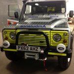 NNPMRT's New Land Rover Defender joins the fleet.