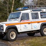Kielder 4x4 Safari Support Vehicle - Curlew X-Ray