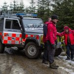 Members of The Northumberland National Park Mountain Rescue Team