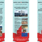 MLH Industrial Banner Stands