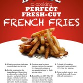 French Fry How-To Sheet