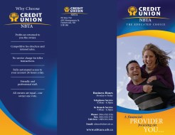 Tri-Fold Brochure Exterior