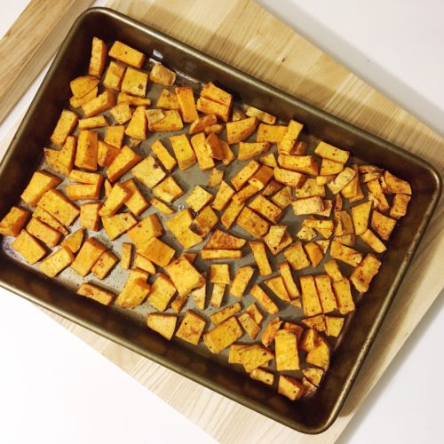 Easy Roasted Sweet Potato Recipe