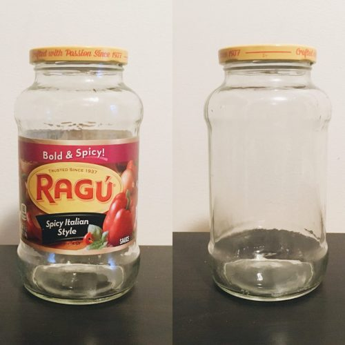How To Remove Sticky Labels From Jars