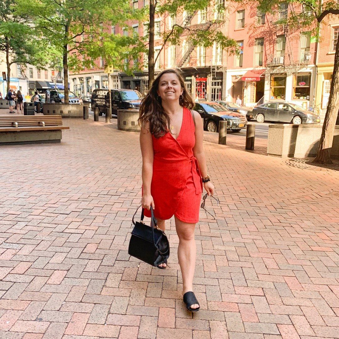 kiersten hickman in new york with modern picnic luncher how to survive living in a city