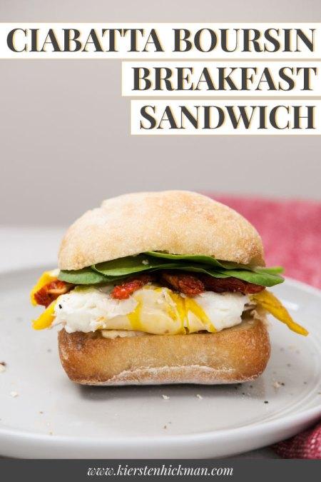 ciabatta breakfast sandwich pin