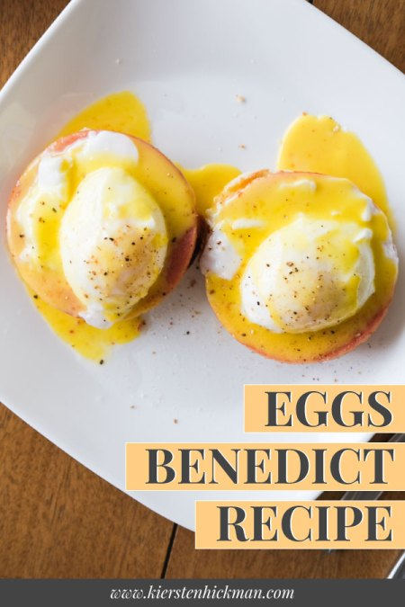 eggs benedict pin for pinterest