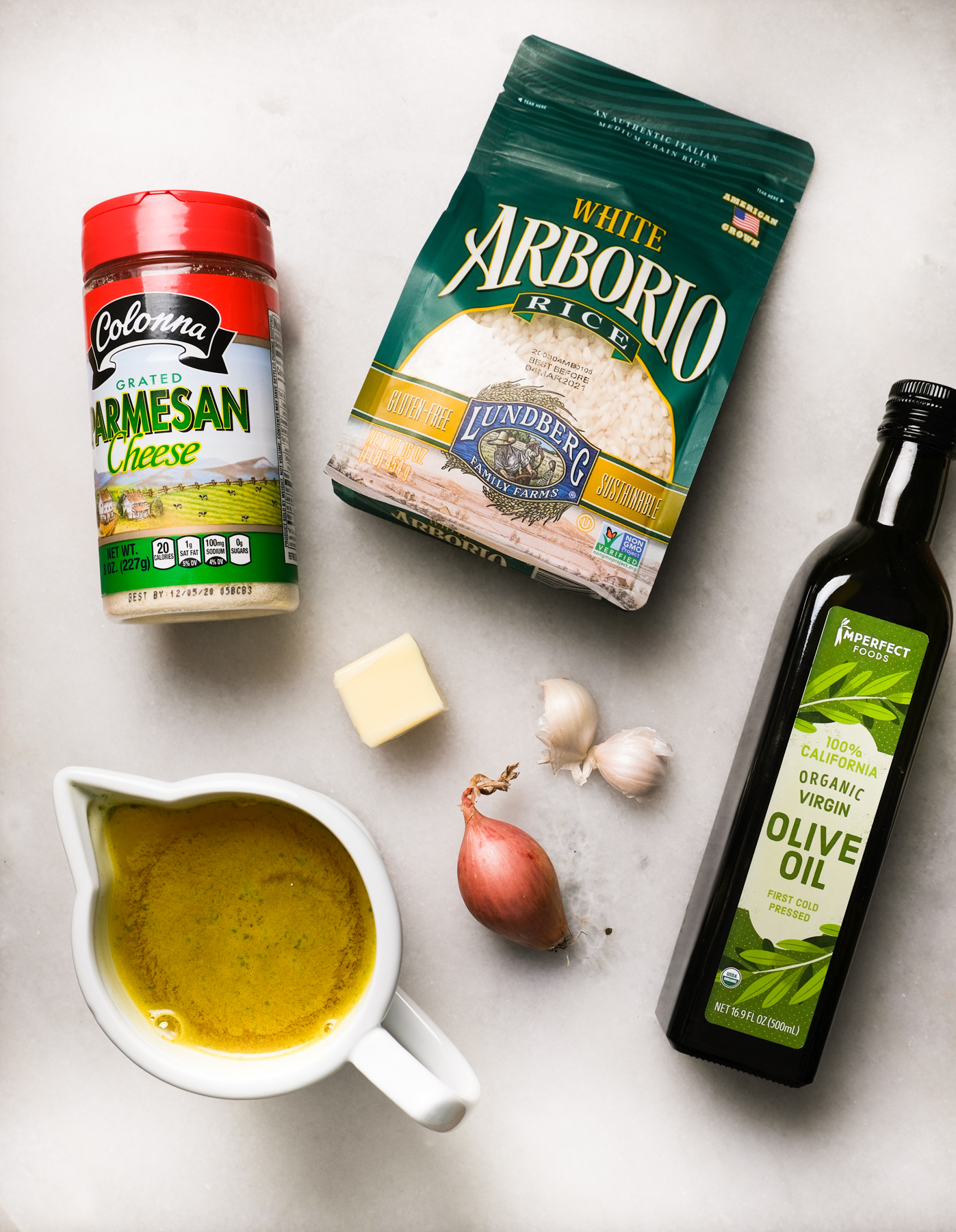 ingredients for instant pot risotto