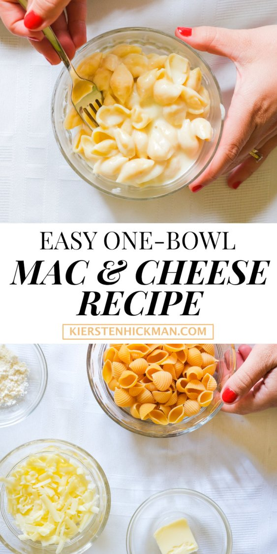 one bowl mac and cheese recipe
