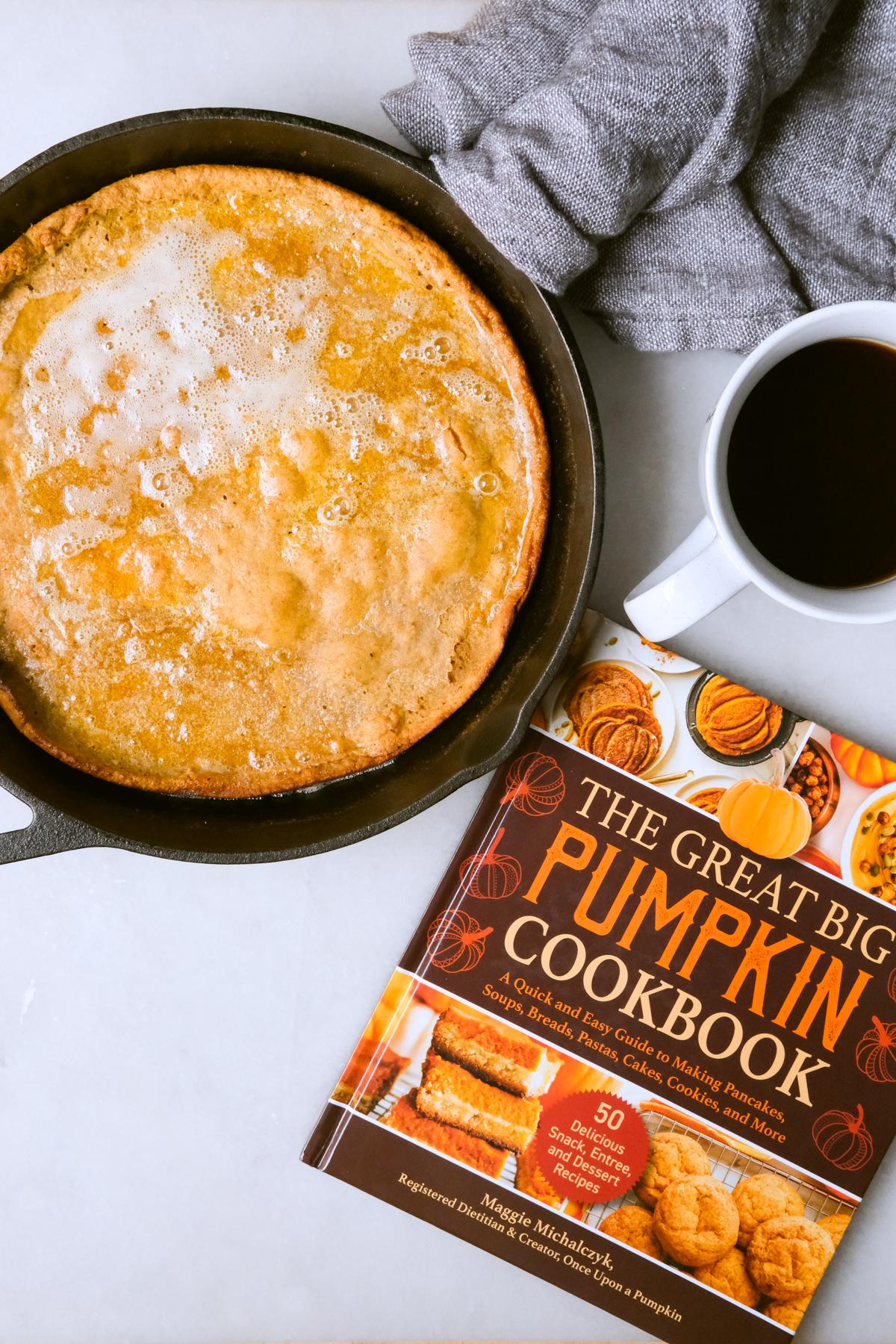 the great big pumpkin cookbook with dutch baby