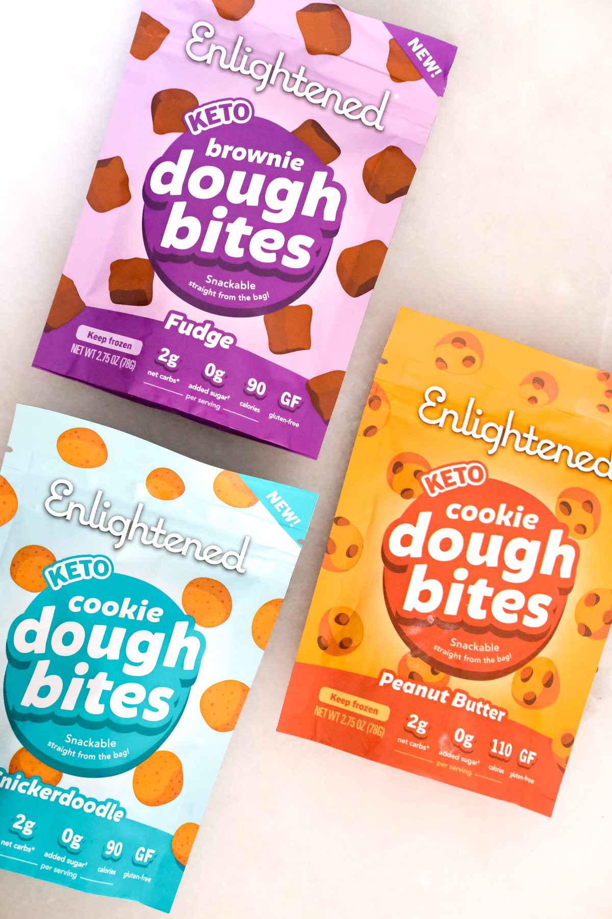 enlightened dough bites