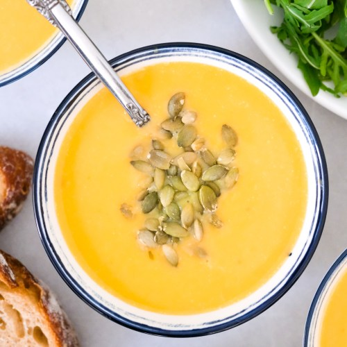 Creamy Roasted Butternut Squash Soup