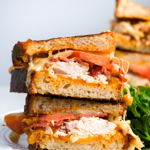Chipotle Chicken Bacon Toastie