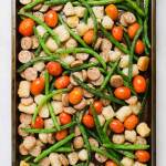 sheet pan gnocchi meal