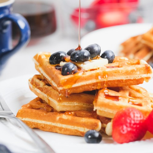 Old-Fashioned Waffle Recipe for Two