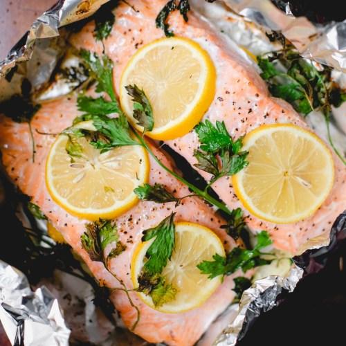 My Favorite Easy Baked Salmon Recipe