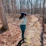 hiking on the spring ridge trail