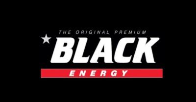 Znalezione obrazy dla zapytania black energy drink logo