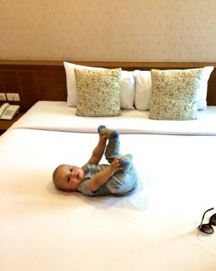 A teraz całe łóżko dla mnie, sorry jestem na wakacjach