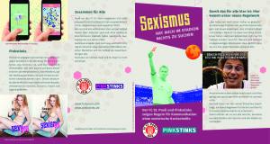 Screenshot Flyer Pinkstinks + FCSP