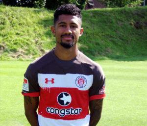 Foto Jeremy Dudziak, Profispieler beim FC St. Pauli