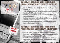 Suchst du ein Ticket für ein FC St. Pauli - Spiel? Dann lies das und halte dich gefälligst dran!