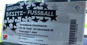 Einzelkarte FC St. Pauli, Saison 2018-19