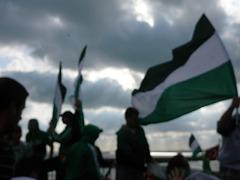 Fans von Werder Bremen auf der Fähre am Bosporus