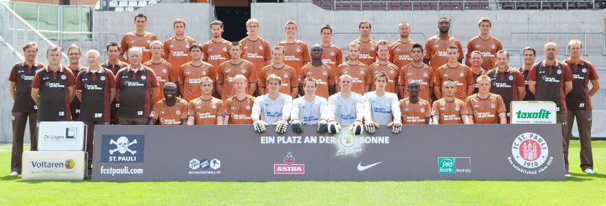 FC St. Pauli - Team 2010 - 2011 (Foto: Selim Sudheimer)
