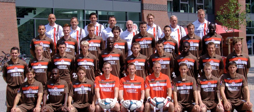 FC St. Pauli- Team, Saison 2009 - 2010