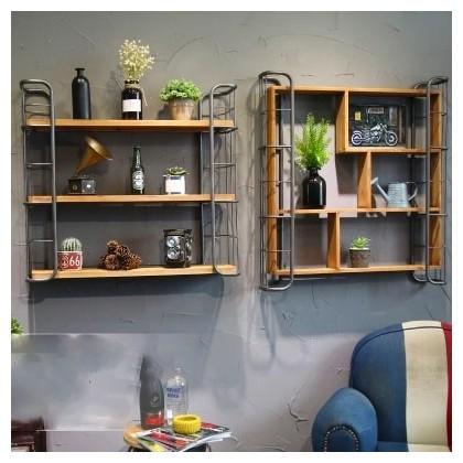 etagere murale style industriel americain pour bar restaurant cafe modele modele 1