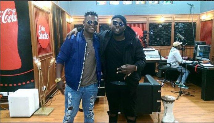 Melodie aherutse kwakira ubutumire bwa Coke Studio