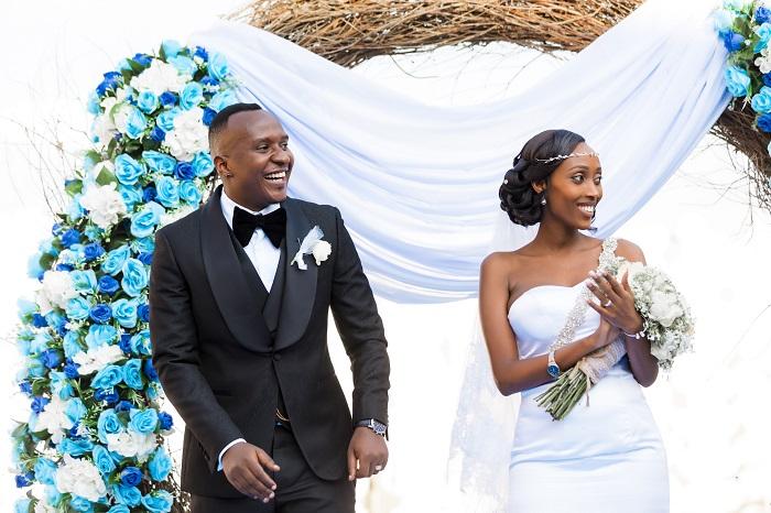 Reba uko ubukwe bw'umuhanzi Platini na Olivia bwagenze (Amafoto) - Kigali  Today