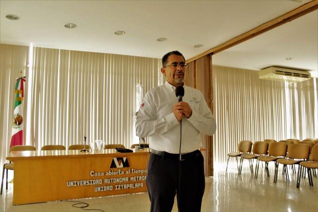 Ingeniero Gabino Urbano, representante de la empresa ITE Soluciones, durante la conferencia Industria 4.0.
