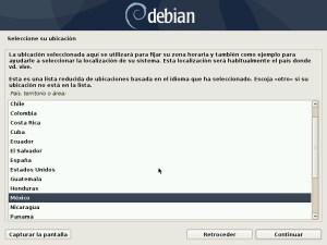 Ilustración 22: Debian pantalla del instalador modo online.
