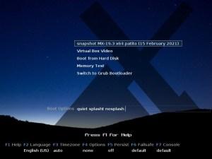 Ilustración 47: Pantalla del instalador del Live CD de MX Linux.