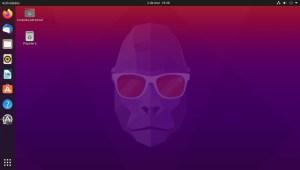 Ilustración 25: Ubuntu 20.10 Groovy Gorilla con Gnome como Interfaz por defecto.