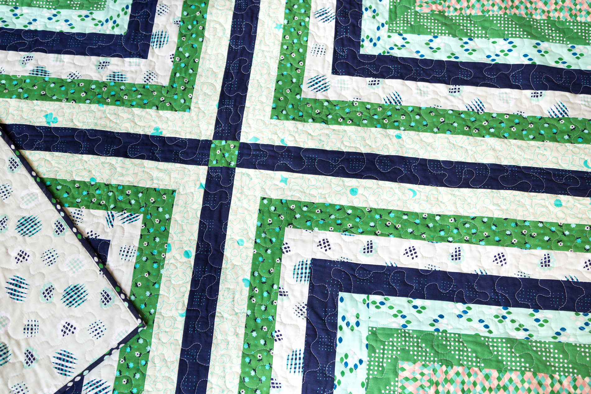 Cartesian Cabin Quilt