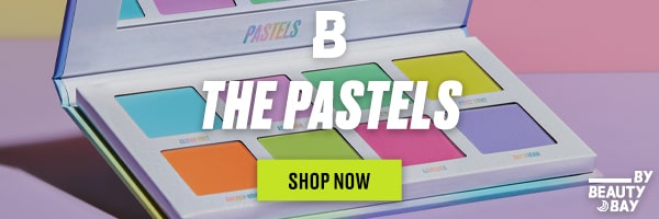Beauty Bay Pastels ad banner