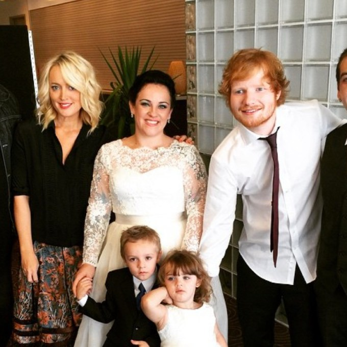 Ed Sheeran Family