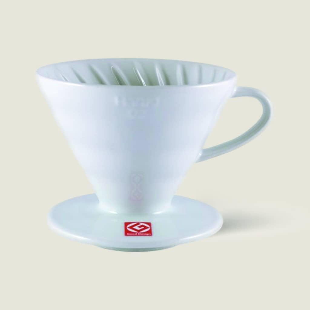 Porzelanfilter, Filterkaffee, Hario handfilter