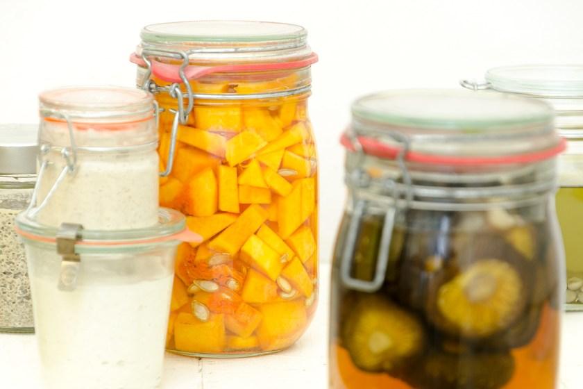 Calabaza fermentada